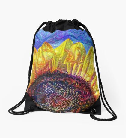 Solar eyelashes Drawstring Bag