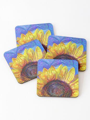 Solar eyelashes Coasters