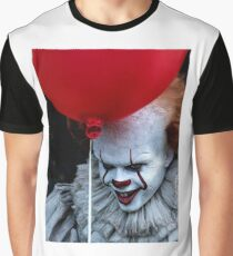 Stephen King It Pennywise Graphic T-Shirt