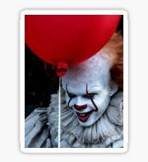 Stephen King It Pennywise Sticker