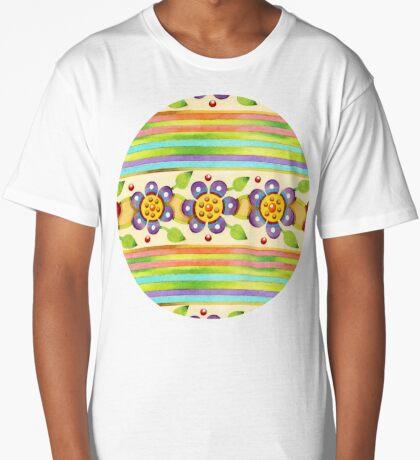 Parterre Botanique Floral  Long T-Shirt