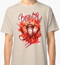 Beautiful Alpha Bear Red Classic T-Shirt