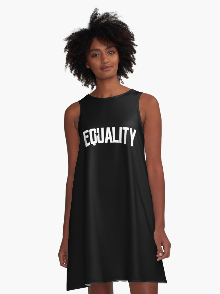 Equality A-Line Dress Front