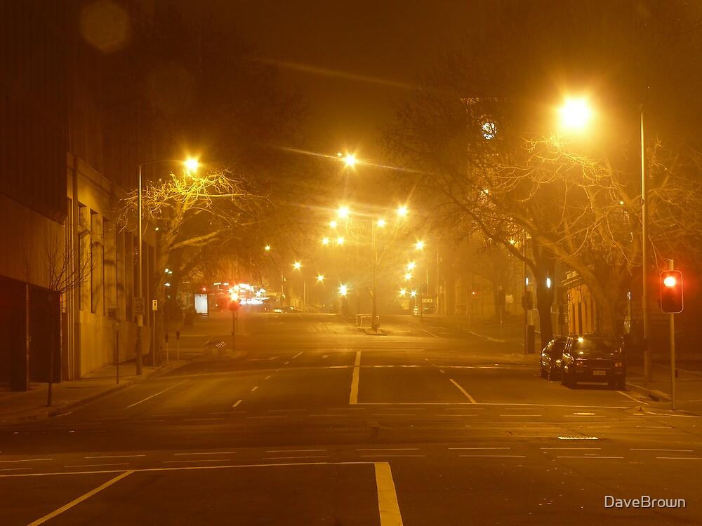 A Foggy Night by DaveBrown