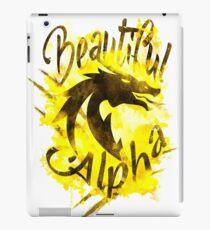 Beautiful Dragon Alpha Yellow iPad Case/Skin