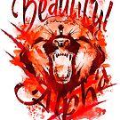 Beautiful Alpha Bear Red by MandyRosko