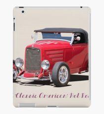 1932 Ford 'Classic American' Roadster 2 iPad Case/Skin
