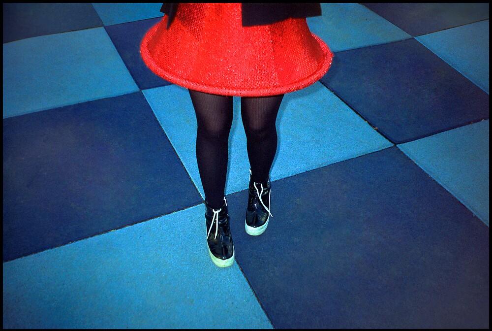 Kezia's Red Skirt by gldfshbob
