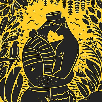 Sailor kiss Yellow by qkingofdiamonds