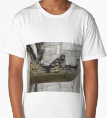 Medieval Knight, Selby Abbey Long T-Shirt