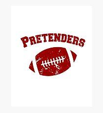 Pretenders Photographic Print