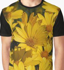 Beautiful Bright Yellow Daisies Graphic T-Shirt