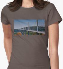 Viaduct du Millau Women's Fitted T-Shirt