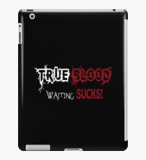 True Blood: Waiting Sucks iPad Case/Skin