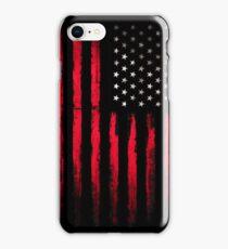 American Stars and Stripes flag Grunge iPhone Case/Skin