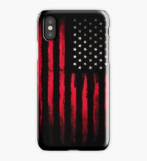American Stars and Stripes flag Grunge iPhone Case/Skin
