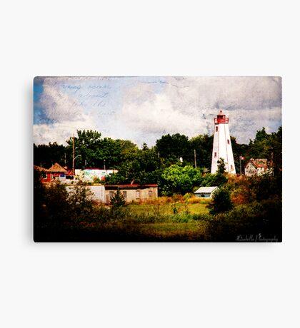 Port Burwell Canvas Print