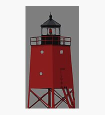 Charlevoix Michigan South Pier Lighthouse Photographic Print