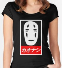 no face dope Women's Fitted Scoop T-Shirt