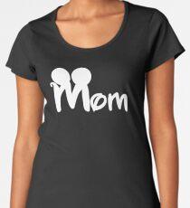MOM mickey Women's Premium T-Shirt