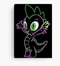 Spike Inspired Canvas Print