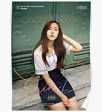 Gfriend (여자친구) Summer Rain (여름비) - SinB (신비) Poster