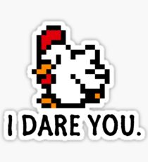 Zelda - The Chicken to the Past Sticker