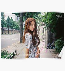 Gfriend (여자친구) Summer Rain (여름비) - Sowon (소원) Poster