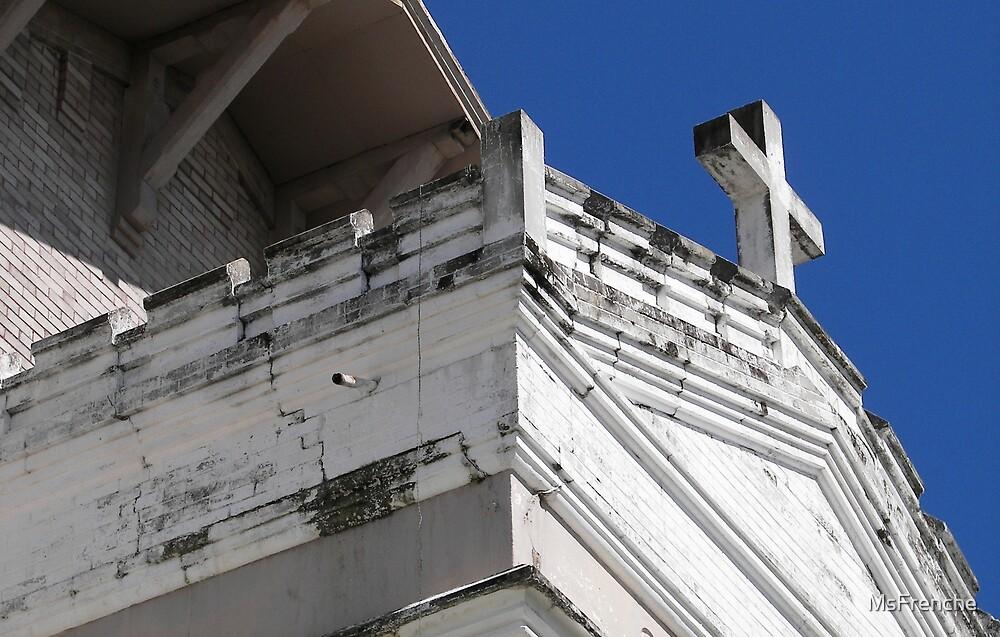 Old Church School by Carolyn LaFrenche Thornton Nelson