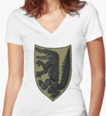 House Reed Women's Fitted V-Neck T-Shirt