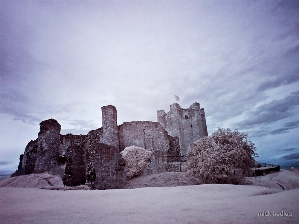 infrared castle by mick hedley