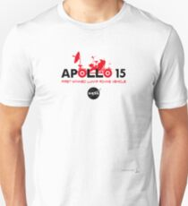 Apollo 15 | first manned lunar roving vehicle Unisex T-Shirt