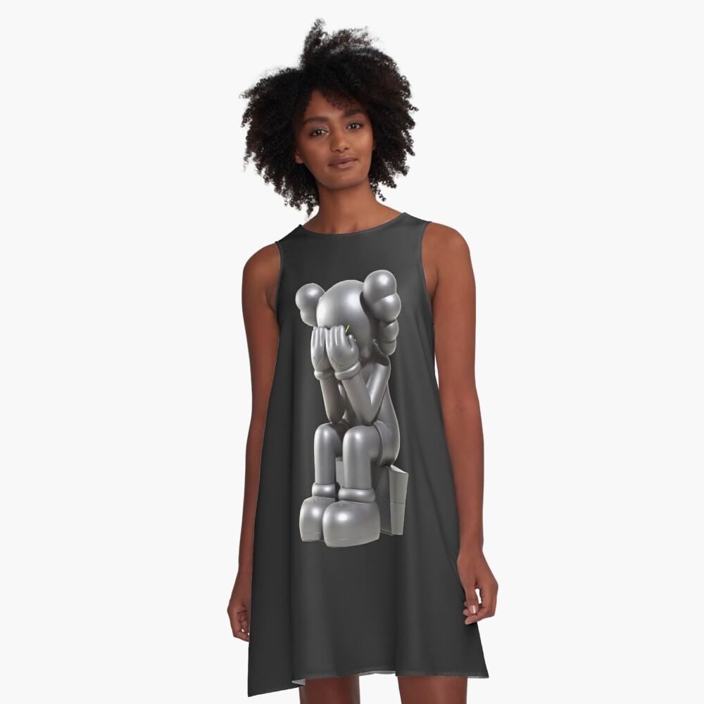 verärgert A-Linien Kleid