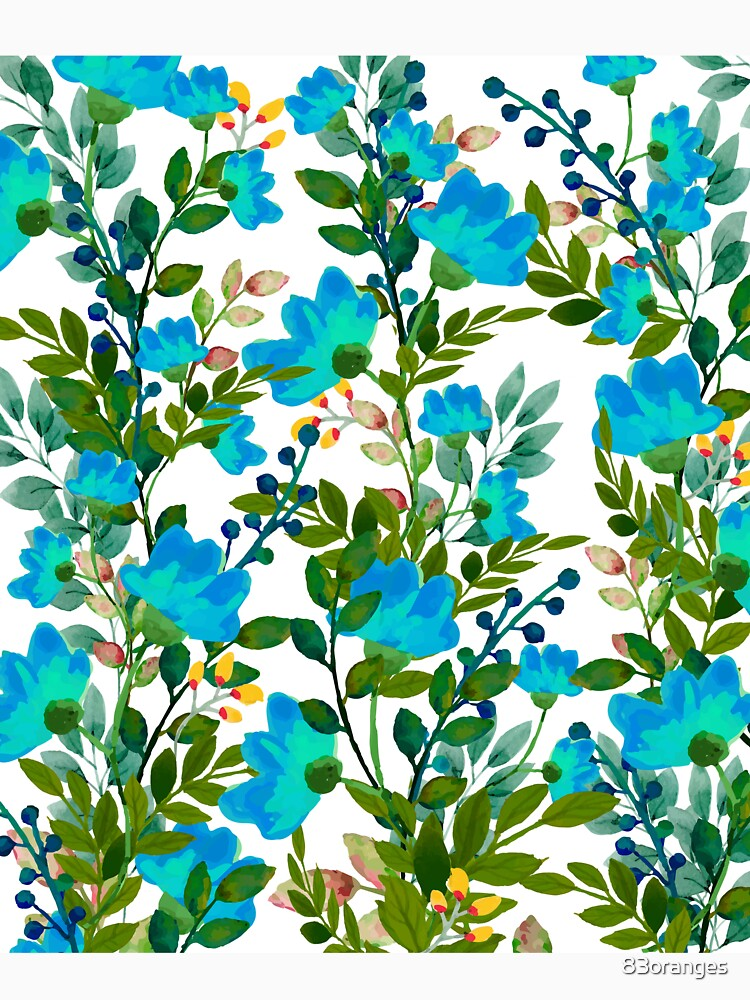 Blue #redbubble #decor #buyart by 83oranges