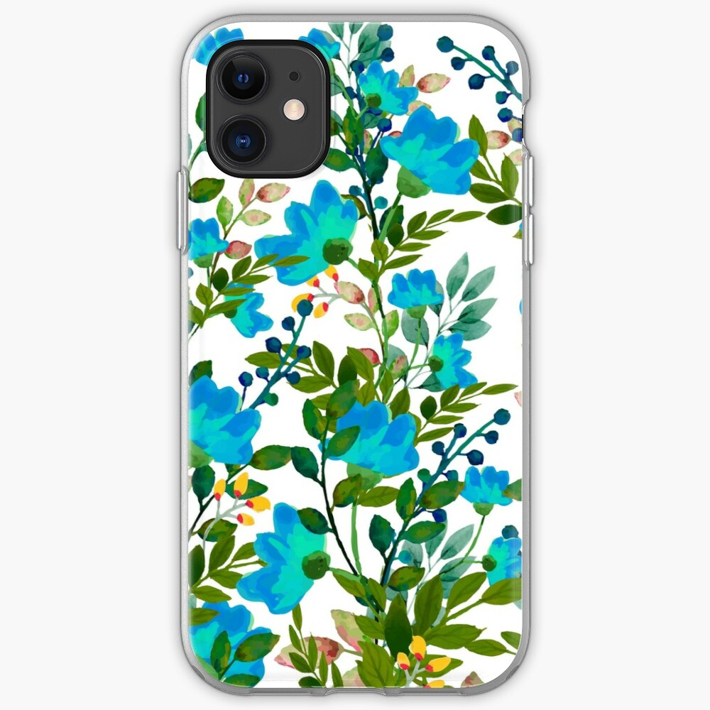 Blue #redbubble #decor #buyart iPhone Case & Cover