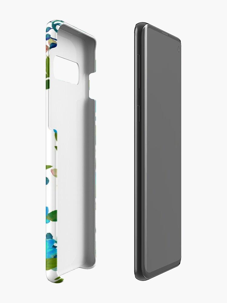 Alternate view of Blue #redbubble #decor #buyart Case & Skin for Samsung Galaxy