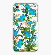 Blue #redbubble #decor #buyart iPhone Case/Skin