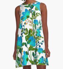 Blue #redbubble #decor #buyart A-Line Dress
