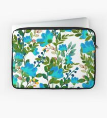 Blau #redbubble #decor #buyart Laptoptasche
