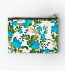 Blue #redbubble #decor #buyart Studio Pouch