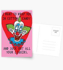 Killer Klown Love Postcards