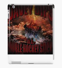 H.E. DOUBLE HOCKEY STICKS iPad Case/Skin