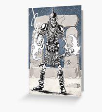 Dekkion, Dungeons & Dragons cartoon Greeting Card