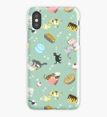 Cats Baking Cakes and other Sweets iPhone Case