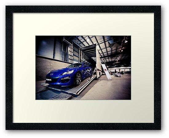 Mazda RX-8 by Jonathan Yeo