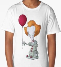 Roger as Pennywise Long T-Shirt