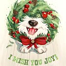 I Wish You Joy! by Sarah  Mac Illustration