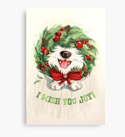 I Wish You Joy! Canvas Print