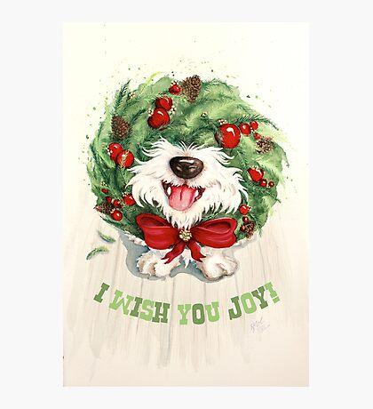 I Wish You Joy! Photographic Print