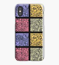 Flower Stencils iPhone Case